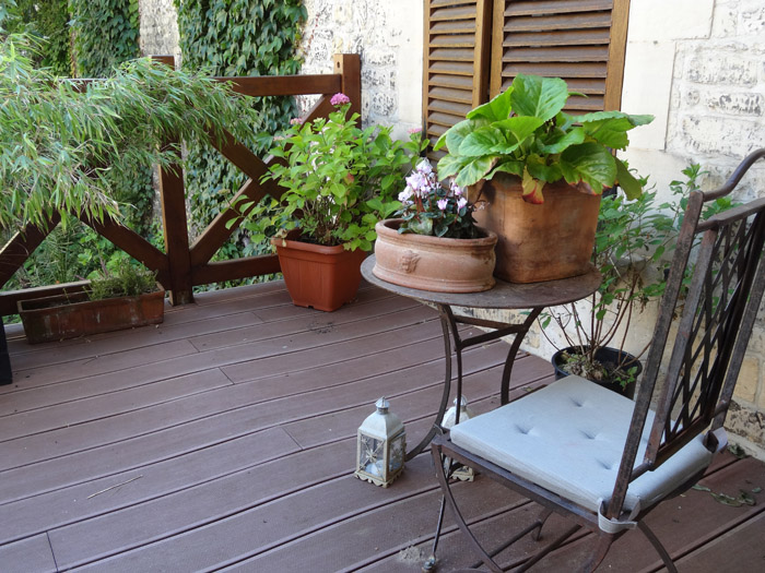 Am nagement d une terrasse ext rieure idea d co le blog for Amenagement d une terrasse