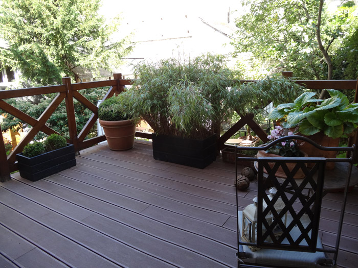 Am nagement d une terrasse ext rieure idea d co le blog for Decoration terrasse exterieur
